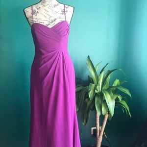 [Alfred Angelo] Formal Fuchsia Dress